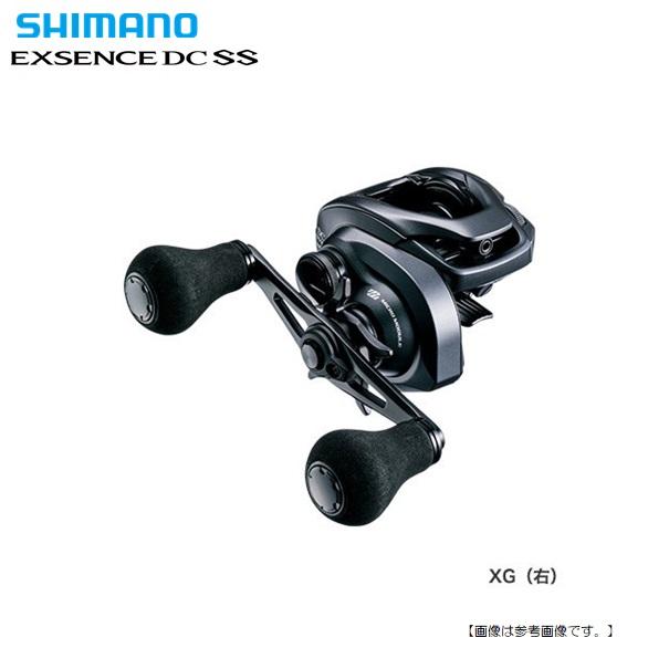 シーバスおすすめ、人気のベイトリール、PE対応 シマノ 20 エクスセンスDC SS XG RIGHT 右巻き 送料無料[リール]