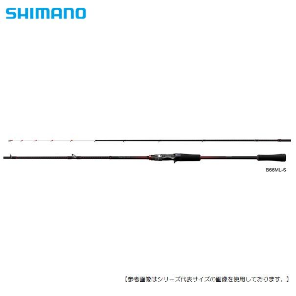 シマノ 18 セフィア BB メタルスッテ B66M-S [ロッド]