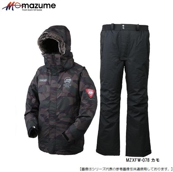 MAZUME 期間限定の激安セール 人気の防寒ウェア おすすめです マズメ MZXFW-078 新色追加して再販 MZX カモ ポップ6 アパレル L コンタクトオールウェザースーツ
