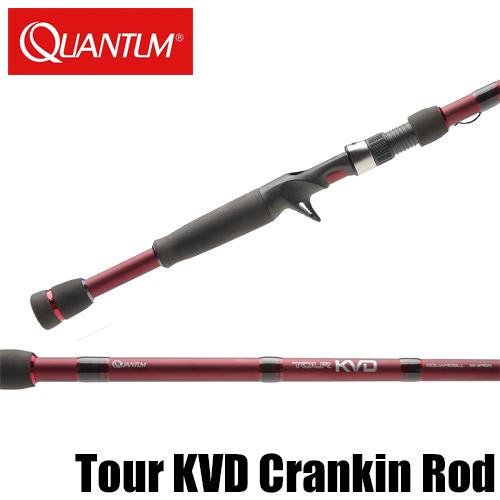 【クァンタム】 ツアー KVD クランキング ロッド / Tour KVD PT Crankbait Rod
