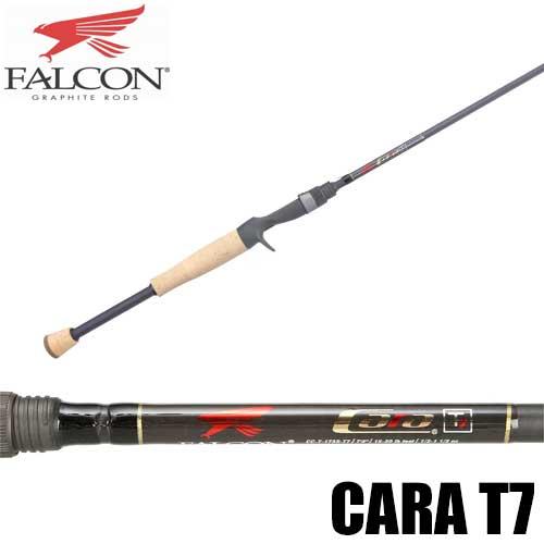 【ファルコン】 キャラ T7 スプリット グリップ ベイトロッド / Cara T7 Split Grip Casting Rod