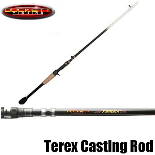 【ダケット フィッシング】 テレックス フロッグ ロッド / Terex Casting Rods