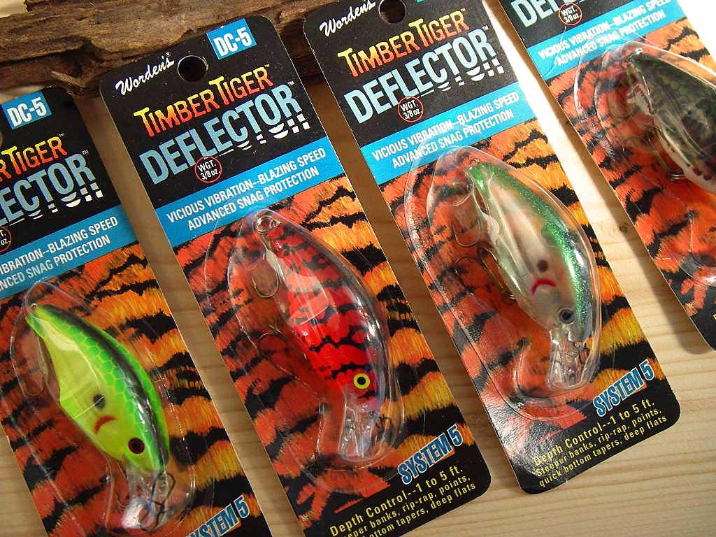 Wordens Timber Tiger,Deflector Series,DC3 Shasta Delta Craw