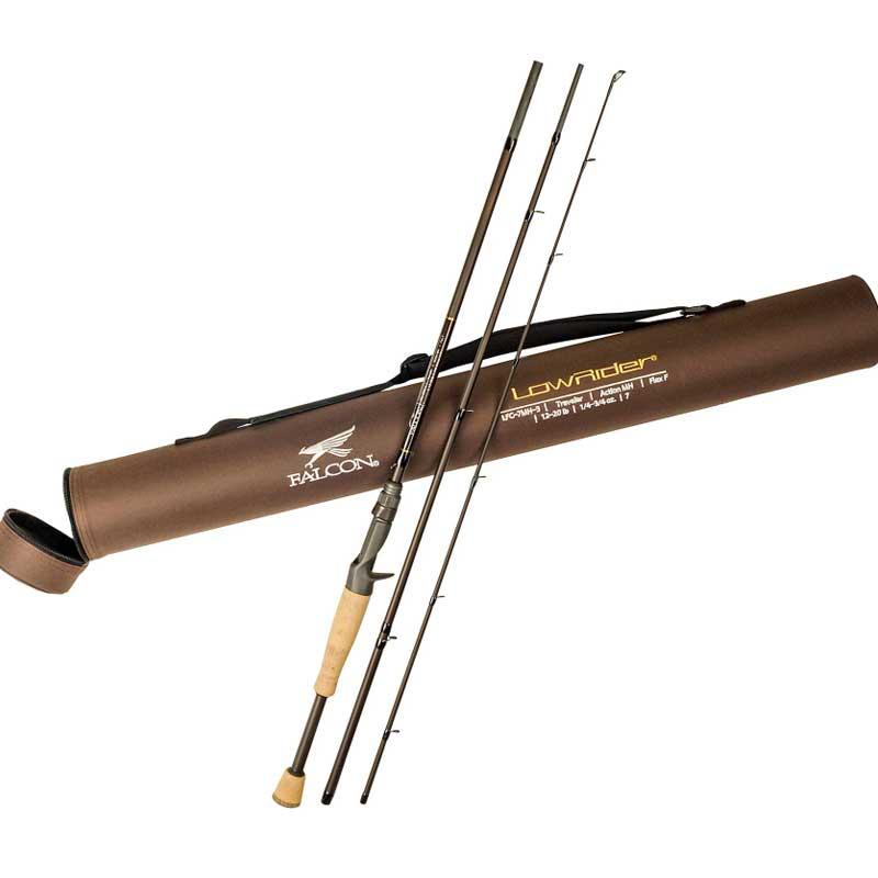【ファルコン】 ローライダー トラベラー ベイトロッド -3ピース ロッド- / Lowrider Traveler Casting Rod