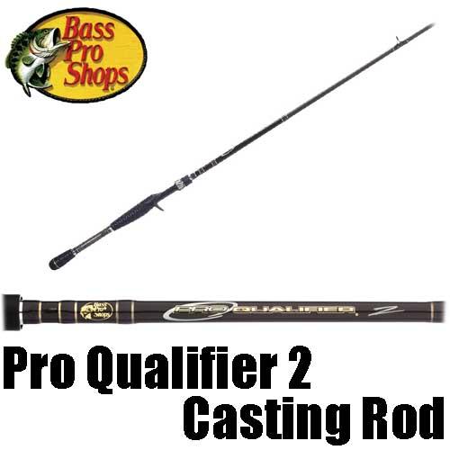 【バス プロ ショップス】 プロ クオリファイアー 2 パックロッド / Pro Qualifier 2 Casting Rod