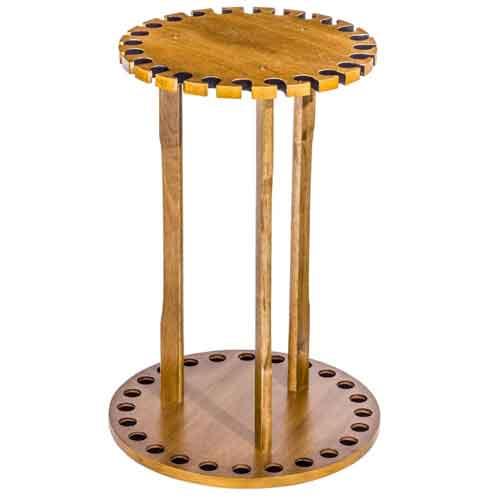 【バス プロ ショップス】 回転式ロッドスタンド 24本用 / Spinning Floor Rod Rack