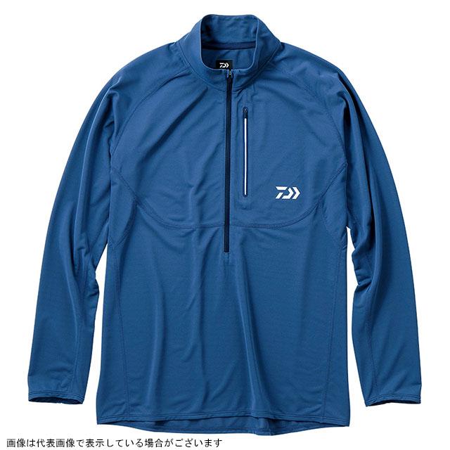 ダイワ(DAIWA) DE-35009 アクティブジップアップシャツ スチールブルー XL