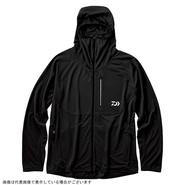 ダイワ(DAIWA) DE-36009 アクティブフルジップパーカ ブラック L