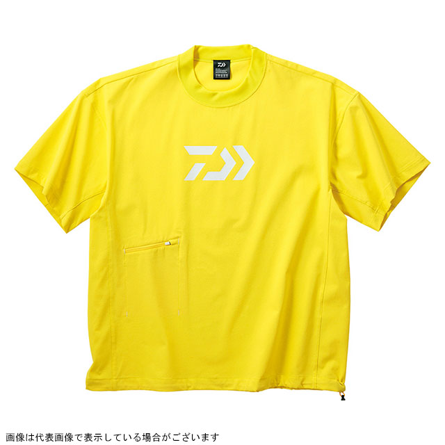 ダイワ(DAIWA) DE-66009 ビッグシルエットショートスリーブメッシュTシャツ イエロー WM
