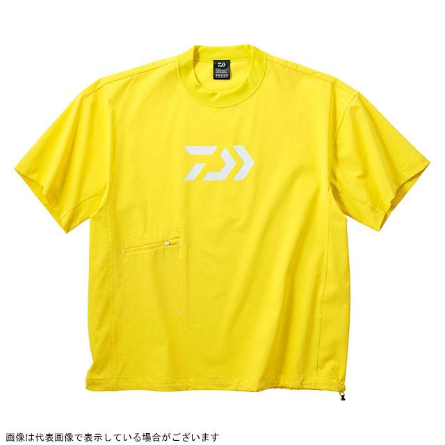 ダイワ(DAIWA) DE-66009 ビッグシルエットショートスリーブメッシュTシャツ イエロー XL