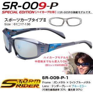 ストームライダー SR-009-P-1 スポーツカーブタイプ2 (偏光サングラス)