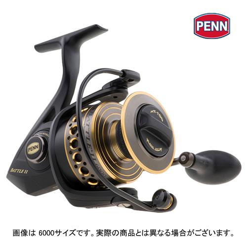 【送料無料】 PENN(ペン) Battle II (バトル2) 5000 スピニングリール