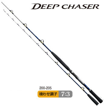 Shimano深的猎人200-205(船竿子)