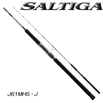 ダイワ 16 ソルティガ J61MHS ジギングモデル (ジギングロッド スピニングロッド) (大型商品A)