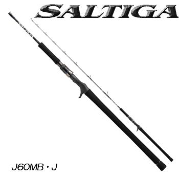 ダイワ 16 ソルティガ J60MB ジギングモデル (ジギングロッド ベイトロッド) (大型商品A)