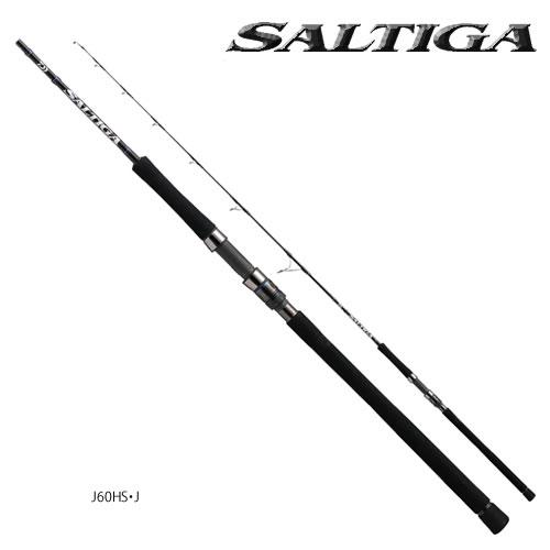 ダイワ 16 ソルティガ J60HS ジギングモデル (ジギングロッド スピニングロッド) (大型商品A)