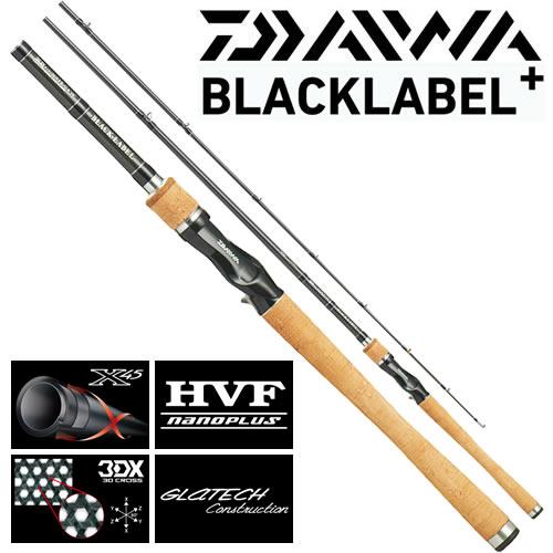 ダイワ 16 ブラックレーベル プラス 6101MHFB-G (1ピース ベイトモデル)(大型商品B)