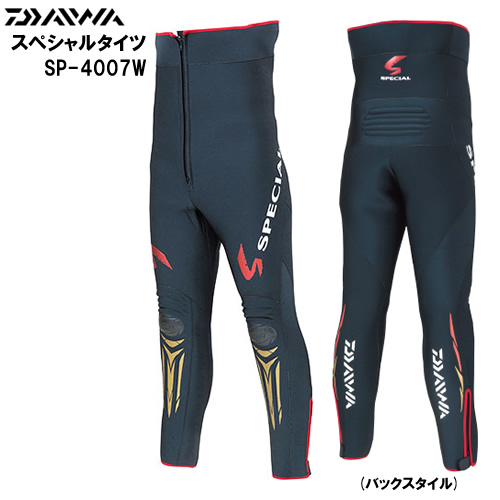 ダイワ スペシャルタイツ SP-4007W ブラック