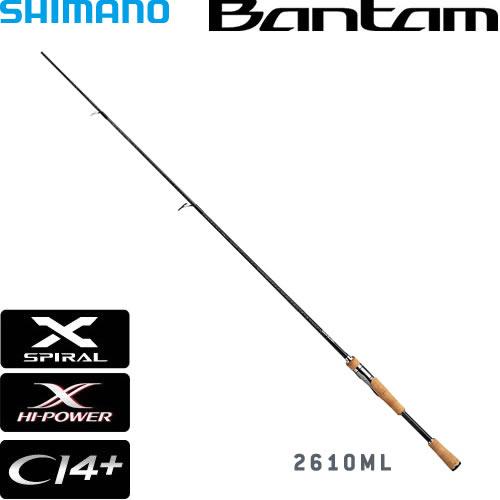 シマノ バンタム2610ML (スピニングロッド バスロッド) (大型商品B)