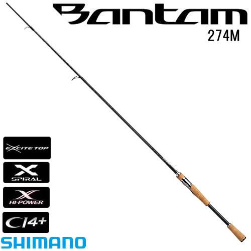 シマノ バンタム 274M (スピニングロッド バスロッド) (大型商品B)