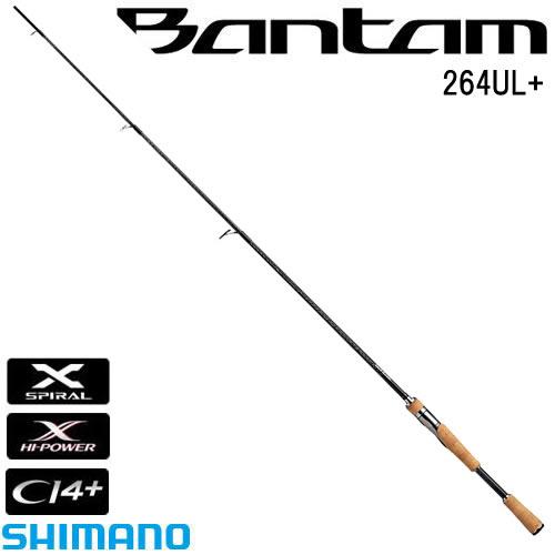 シマノ バンタム 264UL+ (スピニングロッド バスロッド) (大型商品B)