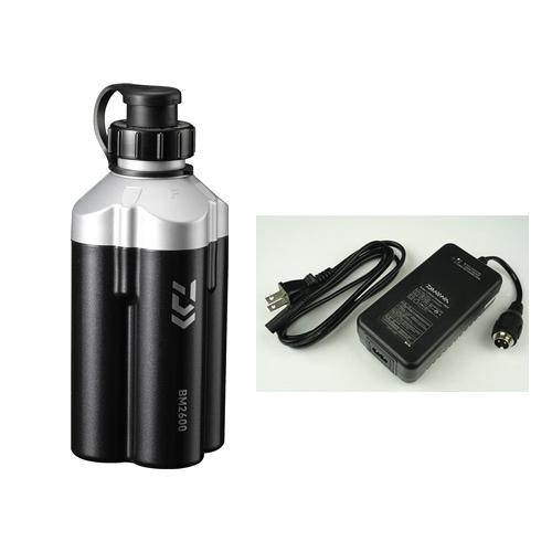 ダイワ スーパーリチウム BM2600C (充電器付き)(電動リールバッテリー)ブラック