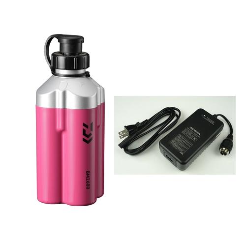 ダイワ スーパーリチウム BM2600C (充電器付き)(電動リールバッテリー)マゼンタ