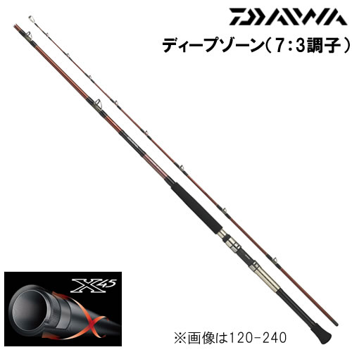 ダイワ ディープゾーン (7:3調子) 200-210 (船竿)