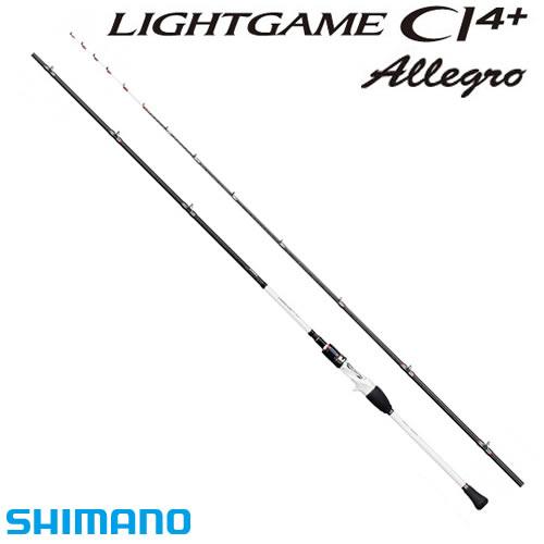 シマノ ライトゲームCI4+ アレグロ タイプ82 M175 (船竿) (大型商品A)