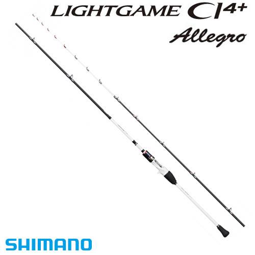 シマノ ライトゲームCI4+ アレグロ タイプ91 SS180 (船竿)(大型商品A)