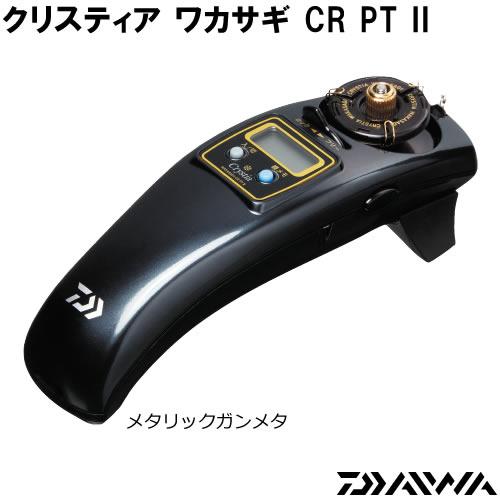 ダイワ クリスティア ワカサギ CR PT2 メタリックガンメタ (ワカサギ 電動リール)