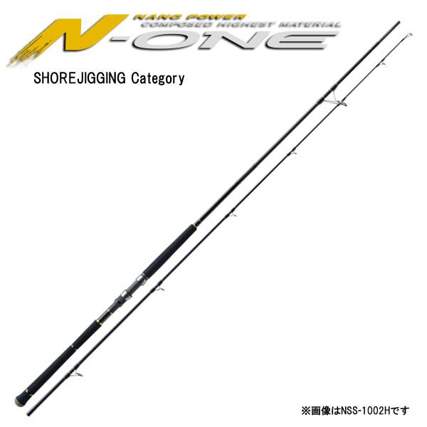 メジャークラフト N-ONE エヌワン ショアジギング NSS-963LSJ 3ピースモデル (ショアジギング ロッド) (大型商品A)