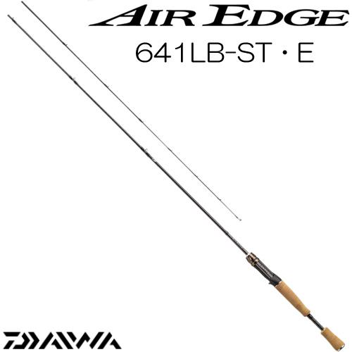 ダイワ 17 エアエッジ 641LB-ST・E ベイトモデル (ブラックバスロッド) (大型商品A)
