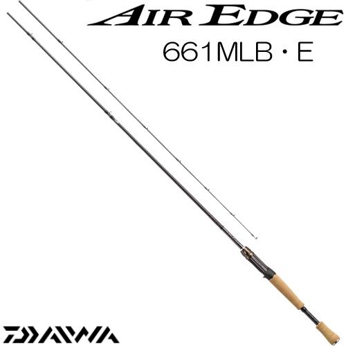 ダイワ 17 エアエッジ 661MLB・E ベイトモデル (ブラックバスロッド) (大型商品B)