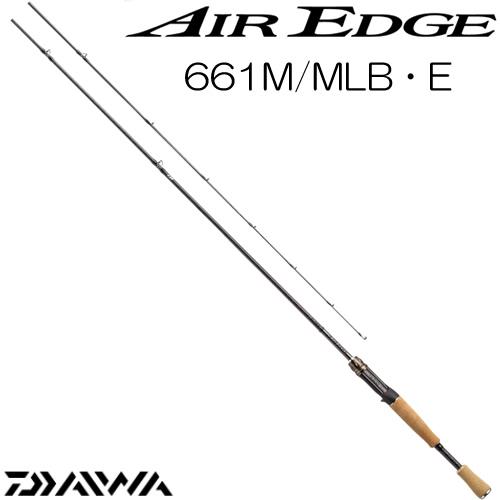 ダイワ 17 エアエッジ 661M/MLB・E ベイトモデル (ブラックバスロッド) (大型商品B)