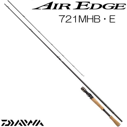 ダイワ 17 エアエッジ 721MHB・E ベイトモデル (ブラックバスロッド) (大型商品A)