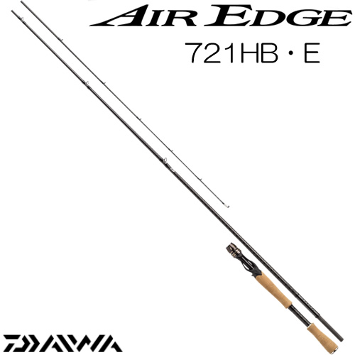 ダイワ 17 エアエッジ 721HB・E ベイトモデル (ブラックバスロッド) (大型商品A)
