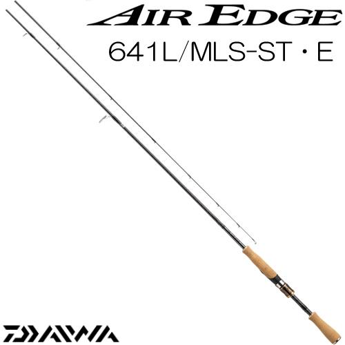 ダイワ 17 エアエッジ 641L/MLS-ST・E スピニングモデル (ブラックバスロッド) (大型商品A)