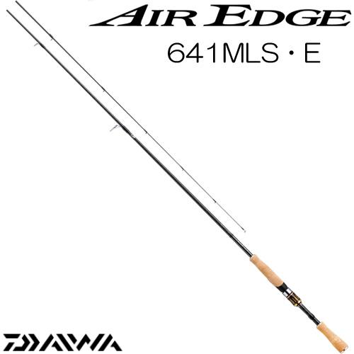 ダイワ 17 エアエッジ 641MLS・E スピニングモデル (ブラックバスロッド) (大型商品A)
