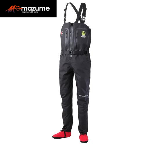 マズメ mazume フルオープンストッキングウェイダー MZST-295 ブラック (透湿ウェーダー)