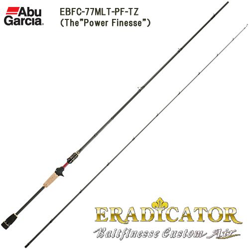 アブガルシア エラディケーター BFC EBFC-77MLT-PF-TZ (ライトソルトロッド)