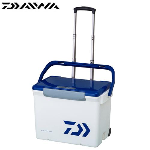 ダイワ シークールキャリー2 GU2500 ホワイト/ブルー (クーラーボックス)