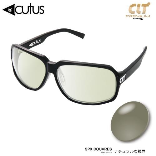CLTプレミアム Acutus アクタス ブラック ドゥーブル/シルバーミラー (サングラス 偏光グラス)