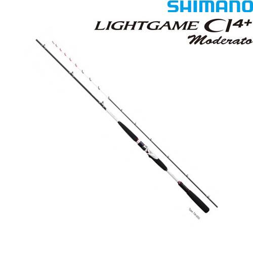 シマノ ライトゲームCI4+ モデラート73 H255 (船竿)(大型商品A)