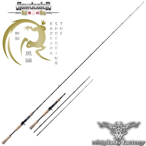 ウィップラッシュファクトリー ローディーラーカイケン The Shredding Kazakama RK608LM3 (怪魚ロッド)