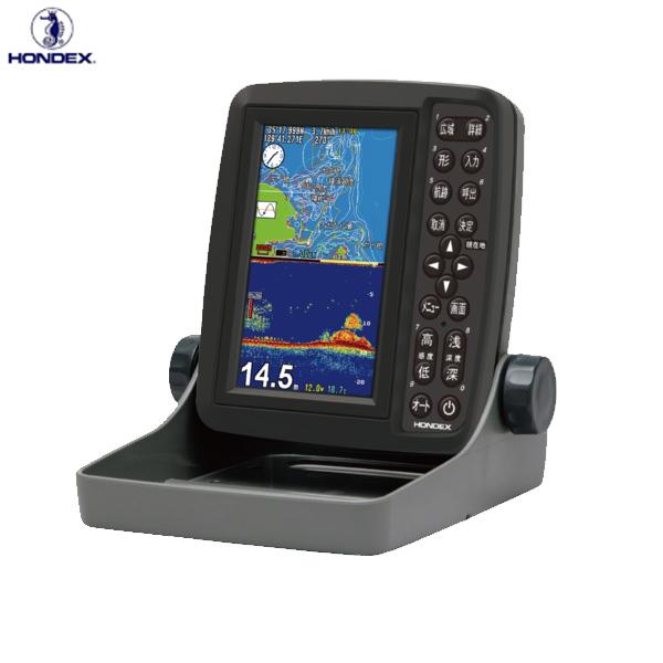 ホンデックス 5型W液晶GPSプロッター魚探 PS-611CN (魚群探知機 魚探)