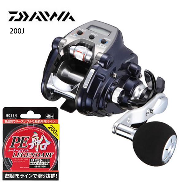 ダイワ 17 レオブリッツ 200J (電動リール)[お買得PEライン2号300Mセット]