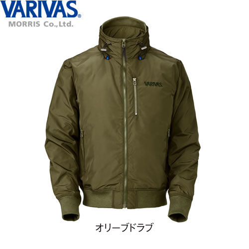 バリバス ウインドブレーカー VAAW-23 オリーブドラブ M~LL (防寒着)