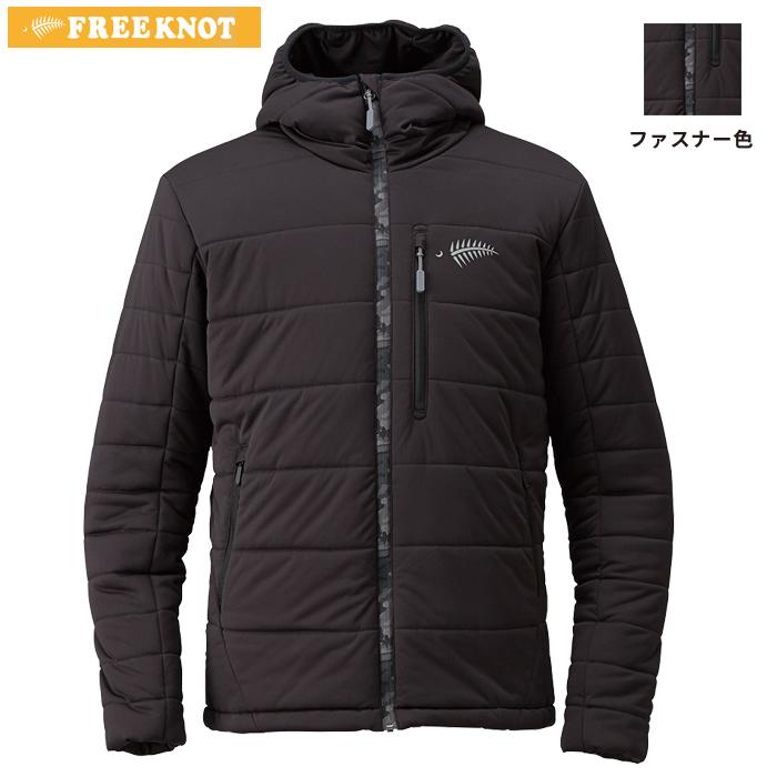 ハヤブサ FOURON シェルフーディー Y1130 ブラック (防寒)