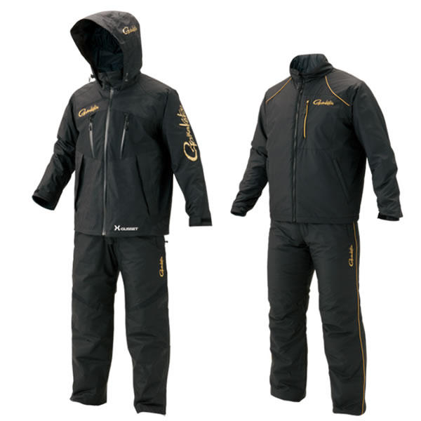 がまかつ オールウェザースーツ (超耐久撥水仕様) GM-3485 ブラック S~5L (防寒具 釣り)